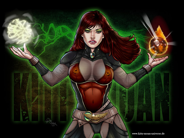 Kitty Moan Wallpapers - Good and Evil - color