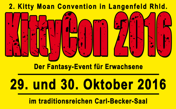 Vorankündigung Kitty Moan Convention 2016